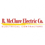 R. McClure Electric Co. logo