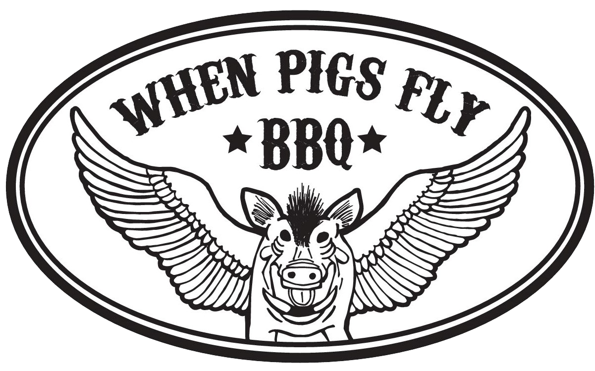 When Pigs Fly BBQ logo