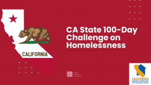 100 Day Challenge to end homelessness in California